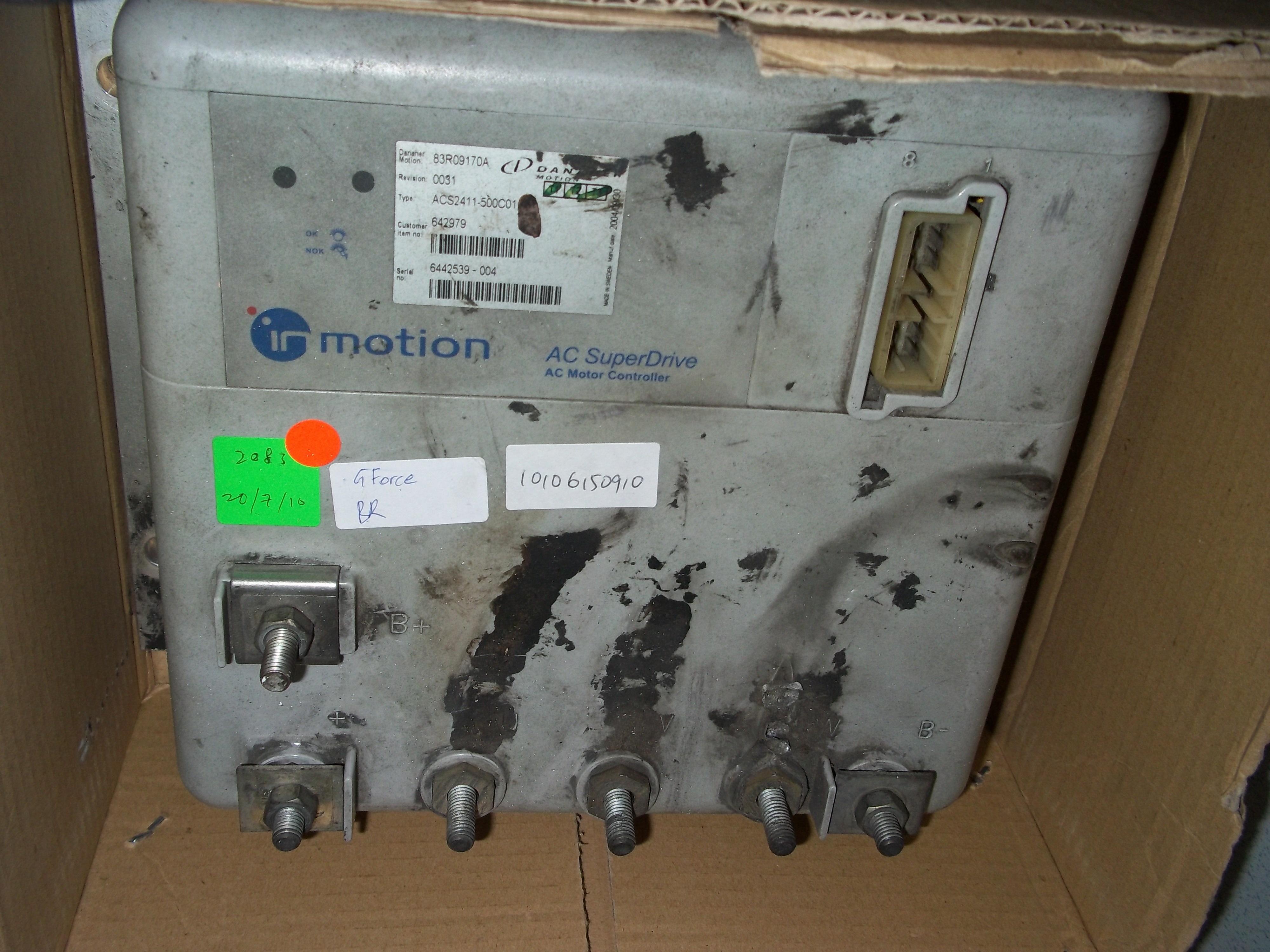 Repair ACS2411-500C01 DANAHER AC MOTOR CONTROLLER in Malaysia, Singapore, Thailand, Indonesia