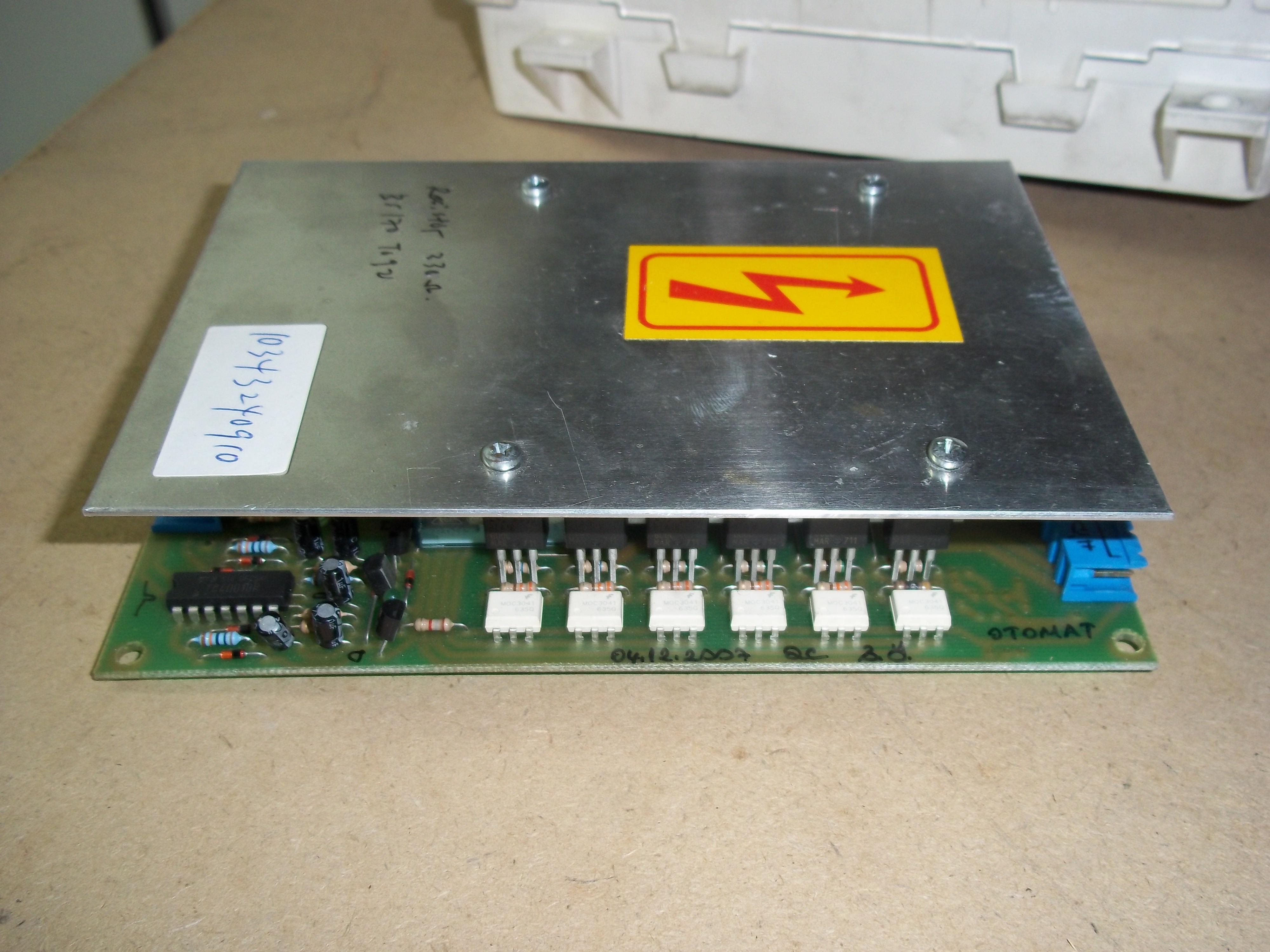 Repair TMOC-100CARD OTOMAT TRIAC MODULE OUTPUT CARD in Malaysia, Singapore, Thailand, Indonesia