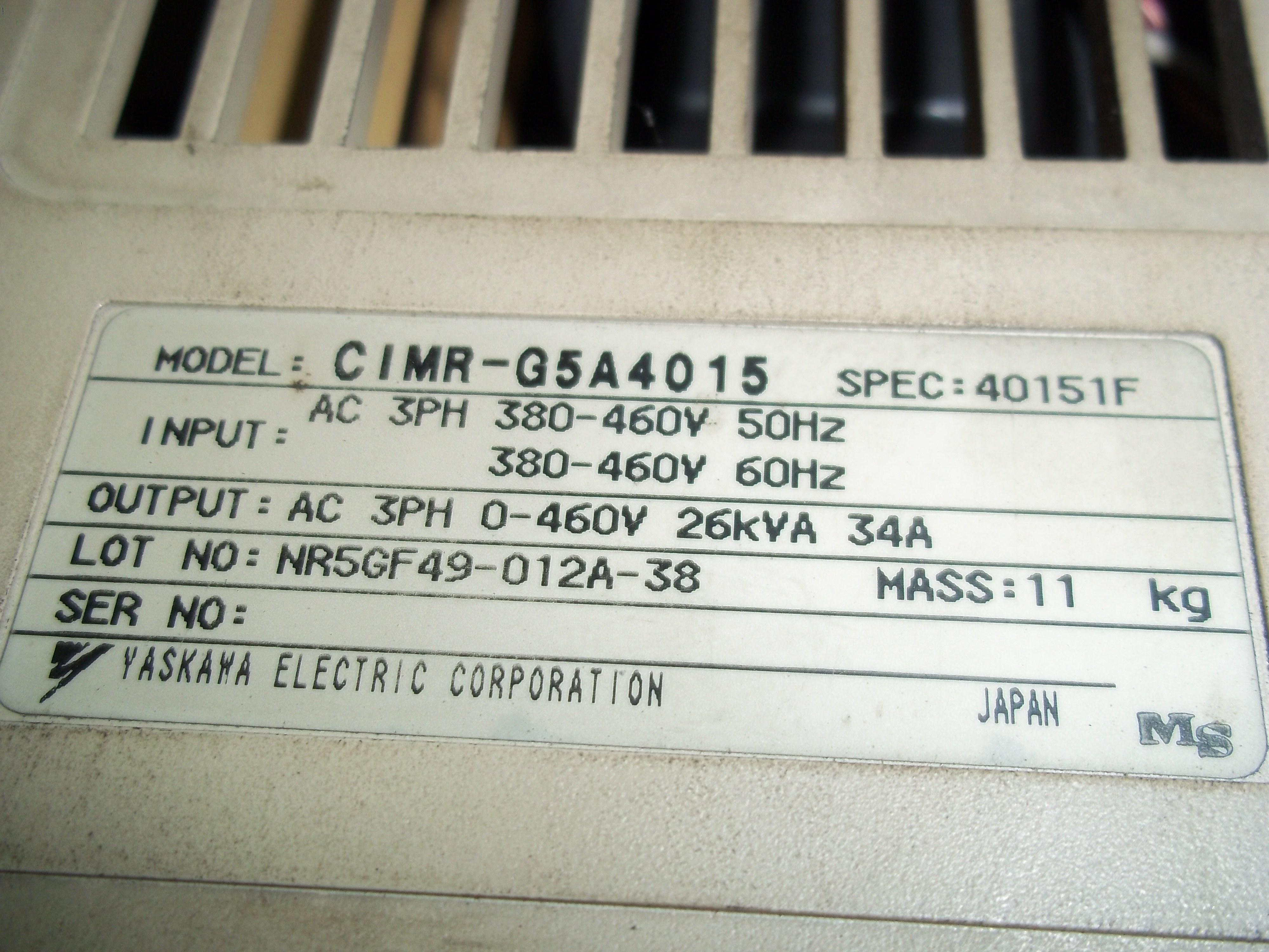 Repair 616G5 CMRG5ALP18 YASKAWA  YASKAWA in Malaysia, Singapore, Thailand, Indonesia