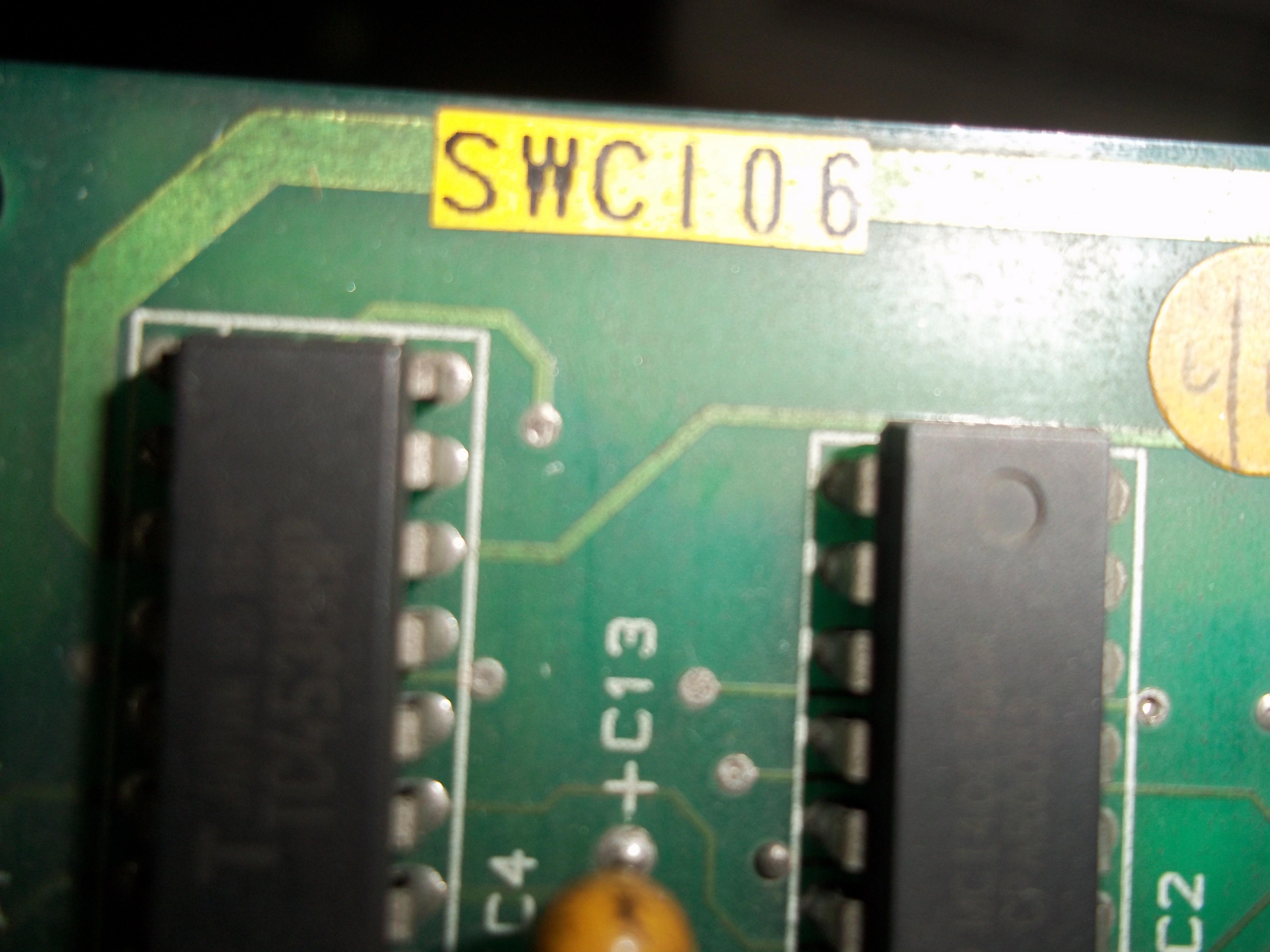 Repair SWC-106 OMRON PCB BOARD WELDING in Malaysia, Singapore, Thailand, Indonesia