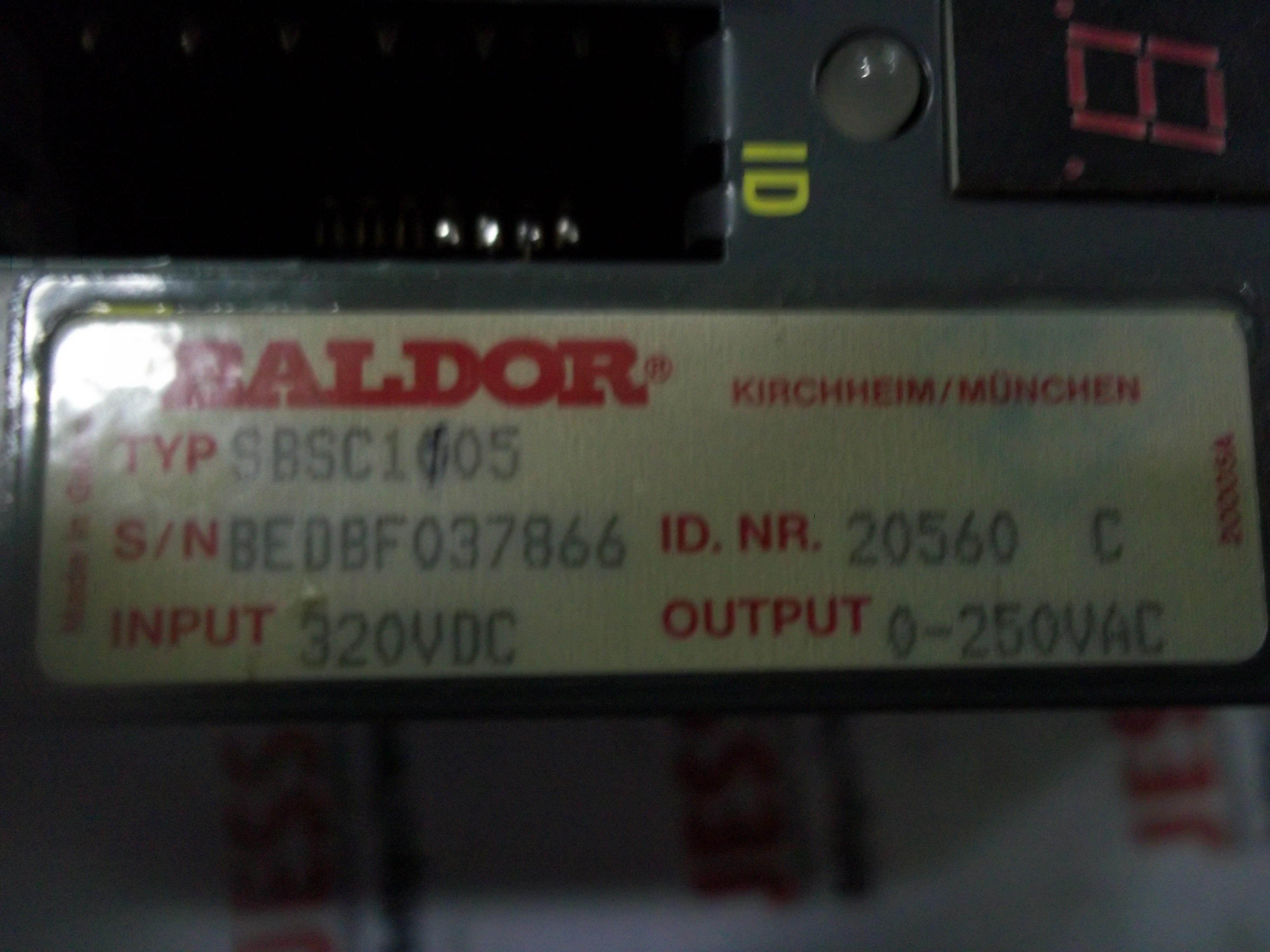Repair SBSC1005 BALDOR BALDOR SERVO DRIVE in Malaysia, Singapore, Thailand, Indonesia
