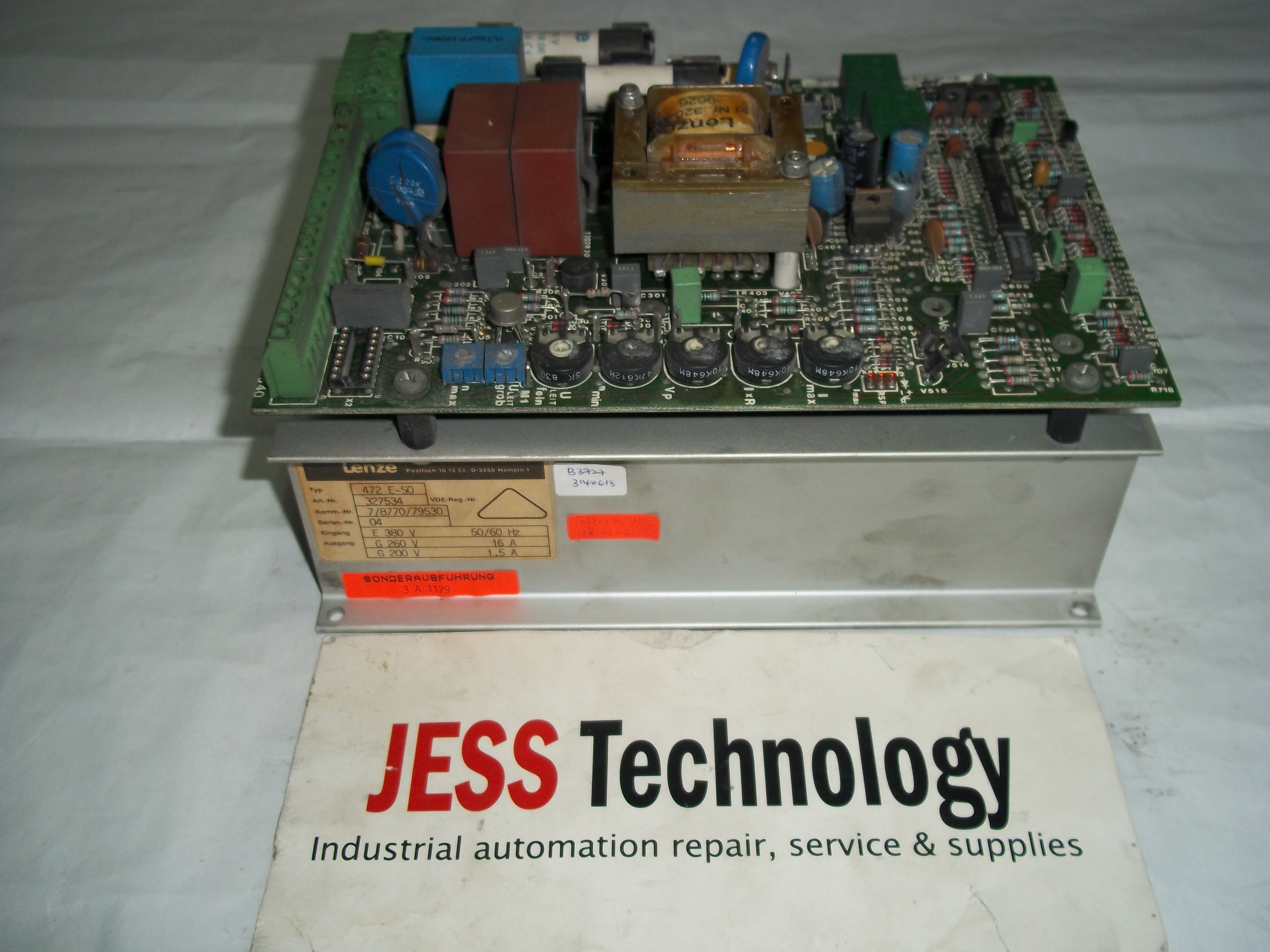 Repair (472 E-SO) (327534) LENZE LENZE MAIN + PULLER CONTROL BOARD in Malaysia, Singapore, Thailand, Indonesia