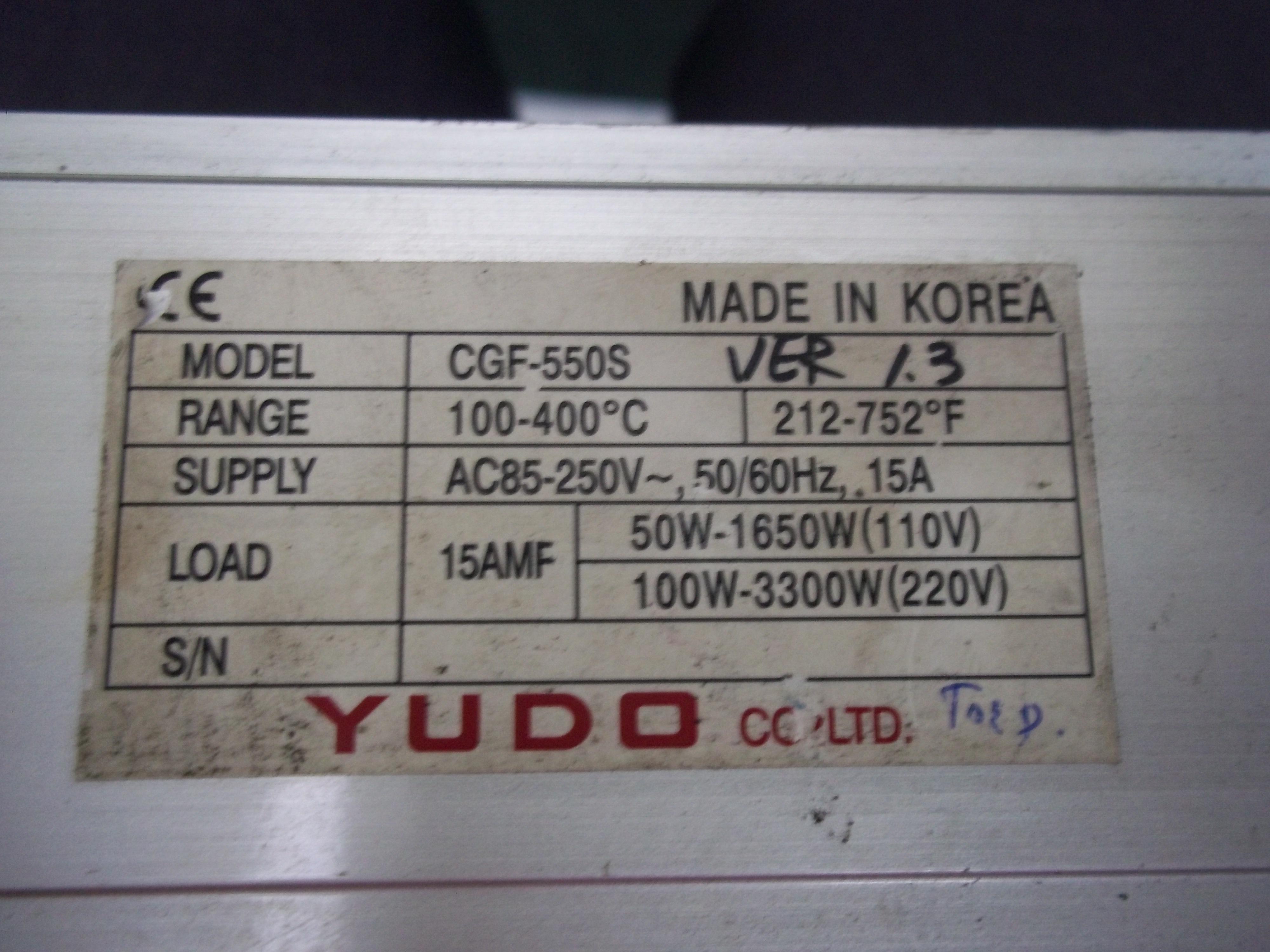 Repair CGF-550S YUDO YUDO MICOM CONTROLLER in Malaysia, Singapore, Thailand, Indonesia