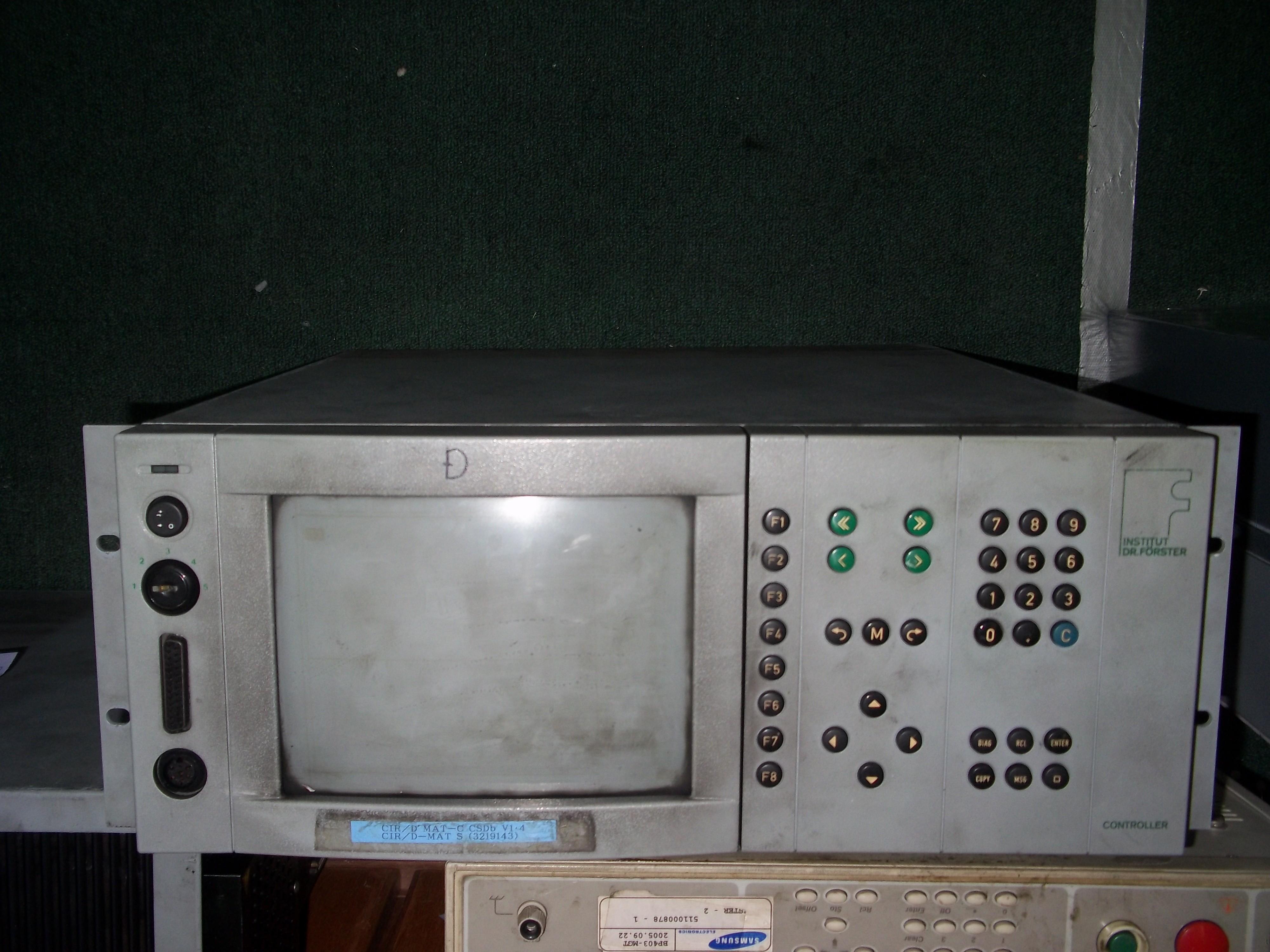 Repair CTR/D-MAT-C CSDB V1.4 (3219143)  INSTITUT DR. FORSTER CONTROLLER in Malaysia, Singapore, Thailand, Indonesia