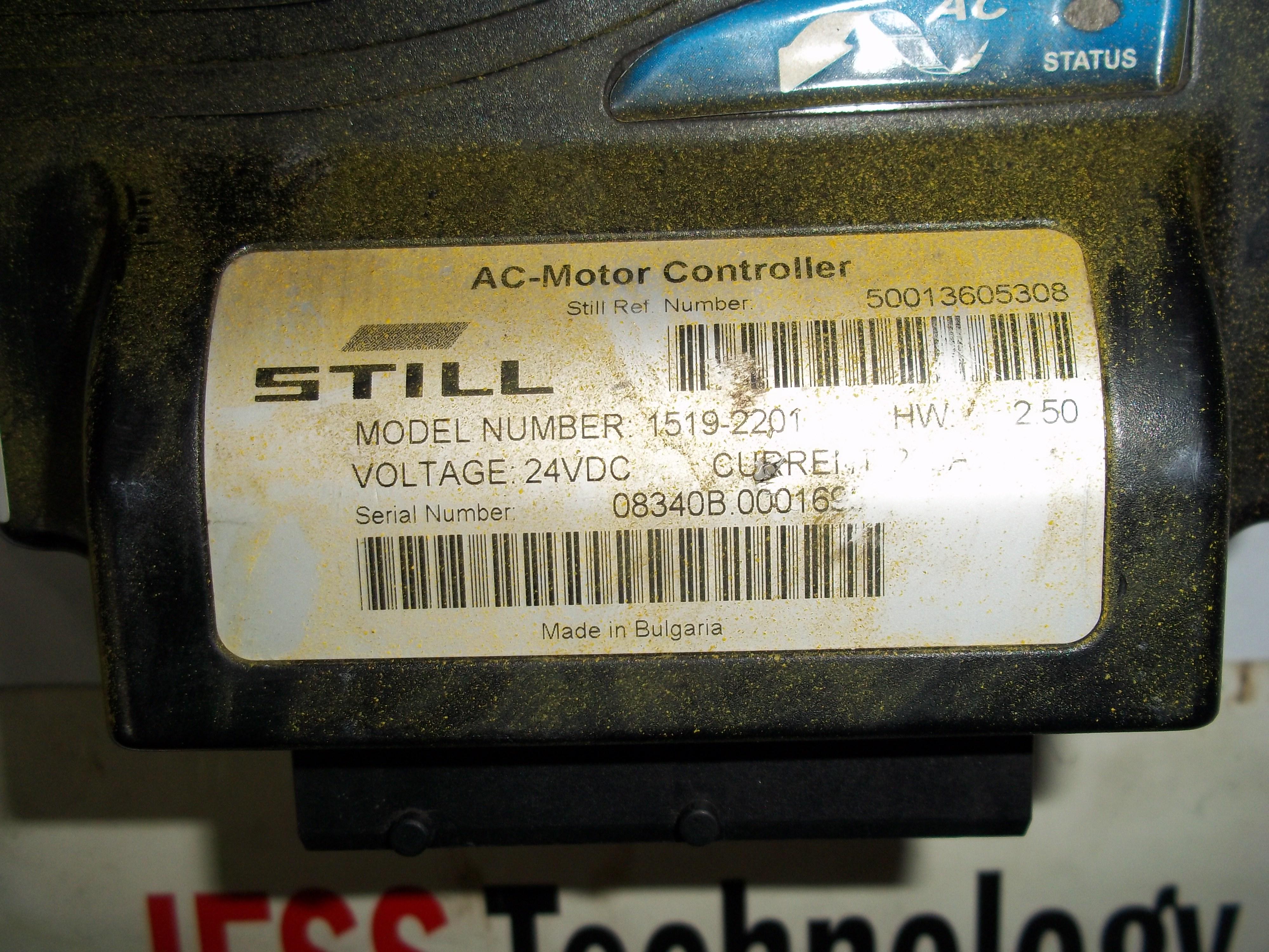Repair 08340B.000169 STILL STILL AC MOTOR CONTROLLER (1519-2201) (A3131) in Malaysia, Singapore, Thailand, Indonesia