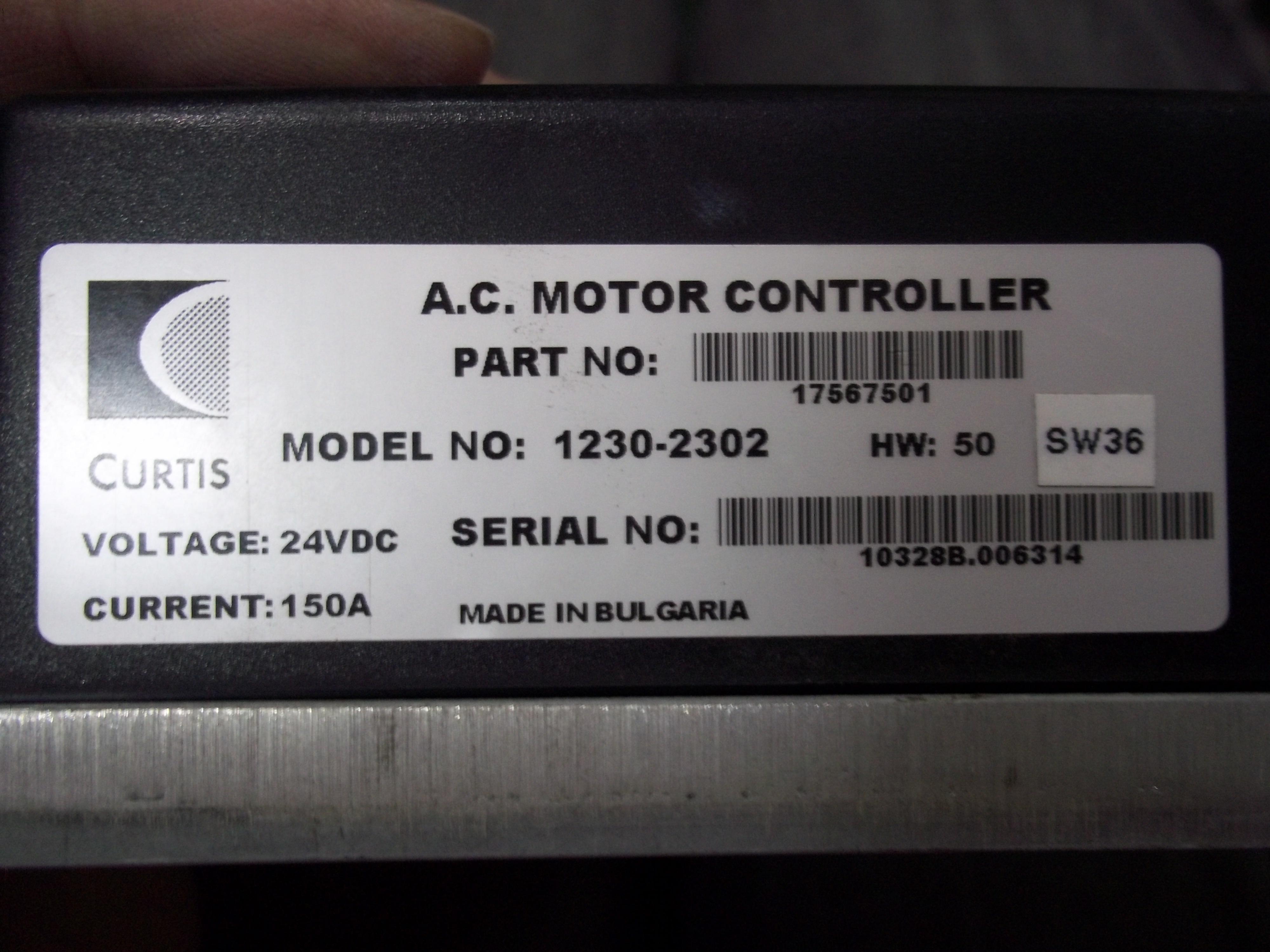 Repair 1230-2302 CURTIS CURTIS MOTOR CONTROLLER in Malaysia, Singapore, Thailand, Indonesia