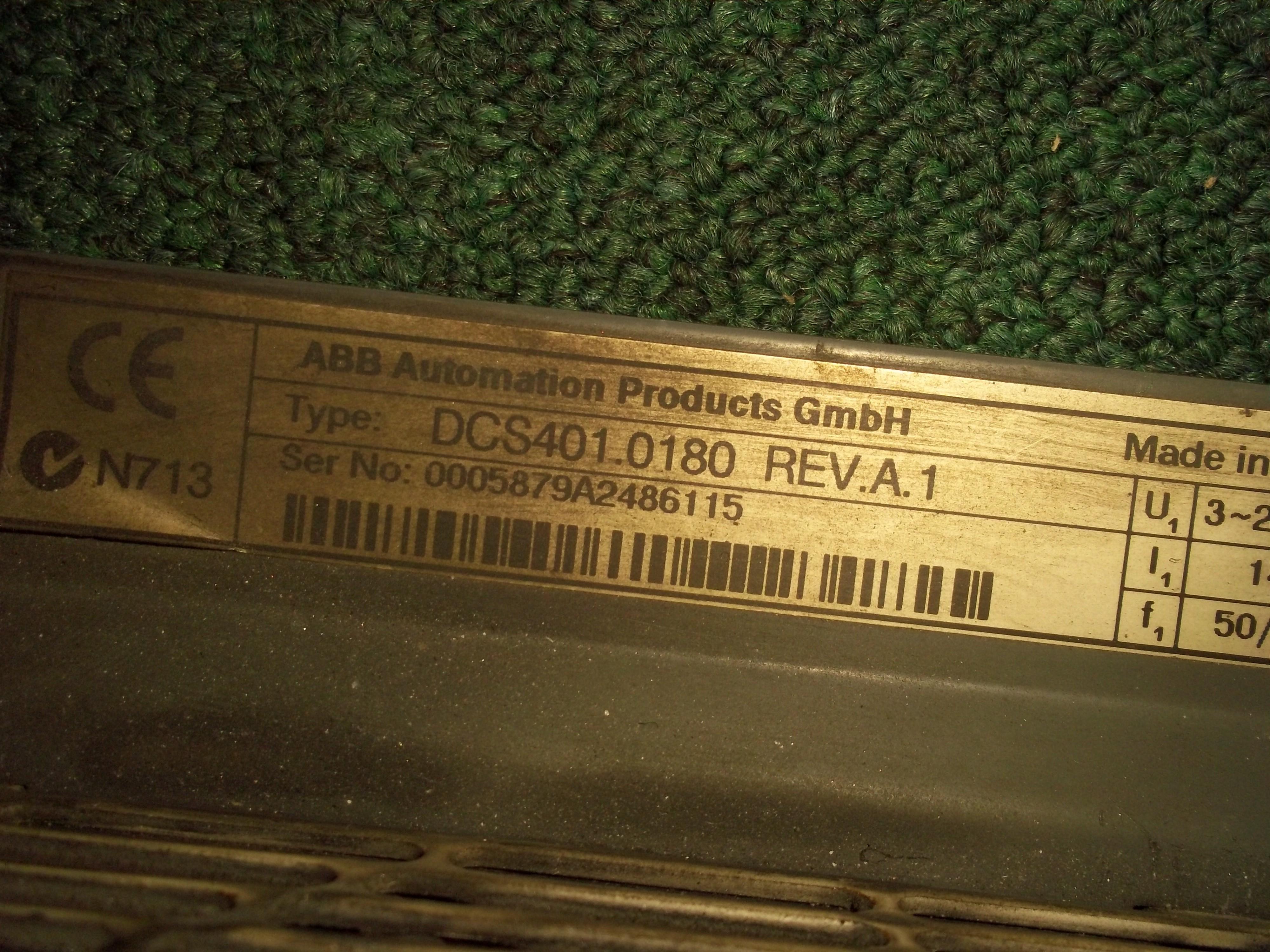 Repair DSC401.0180 REV.A.1 ABB  ABB DRIVE in Malaysia, Singapore, Thailand, Indonesia
