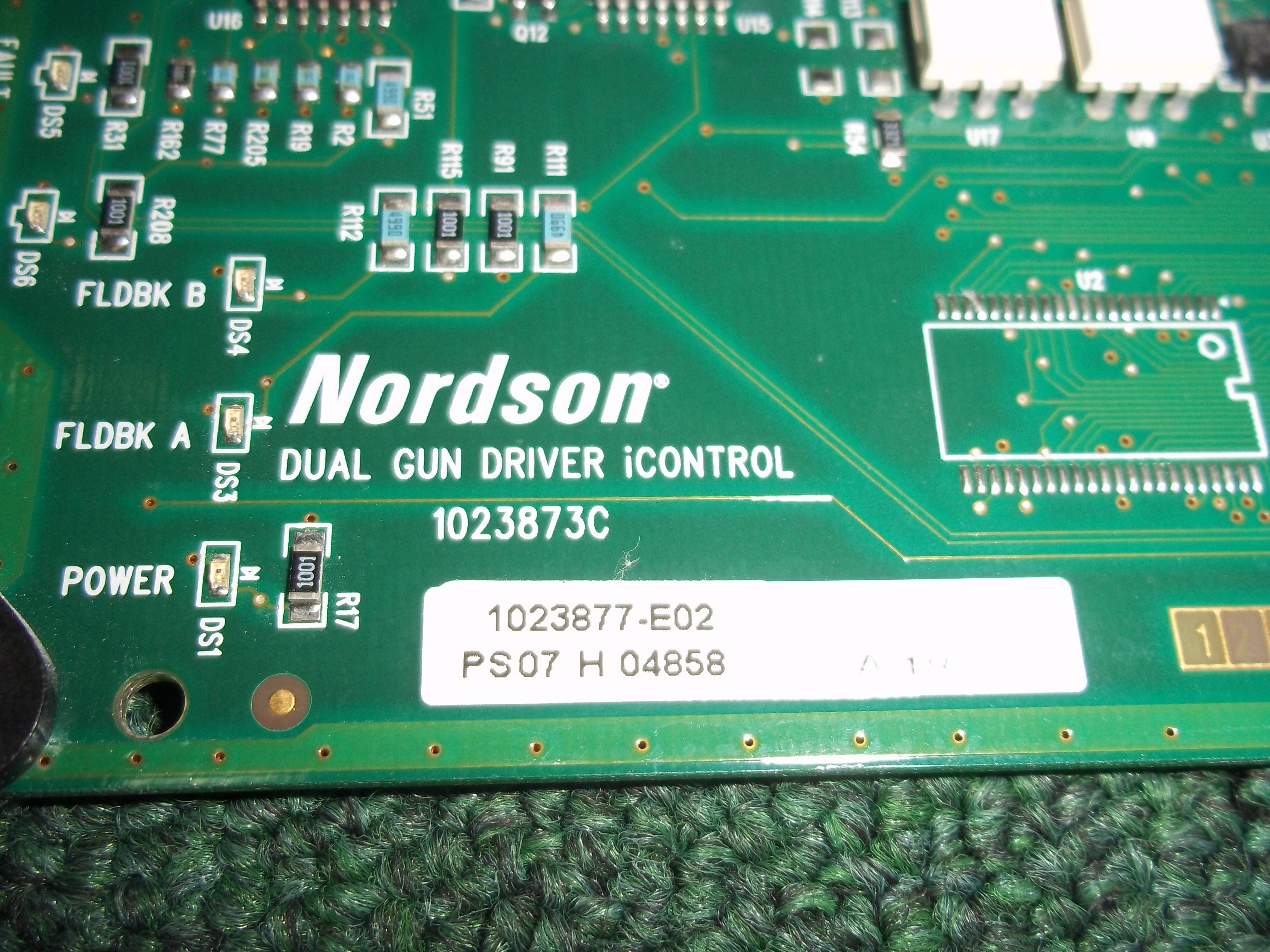 Repair 1023877 NORDSON  NORDSON GUN DRIVER CPU CARD in Malaysia, Singapore, Thailand, Indonesia