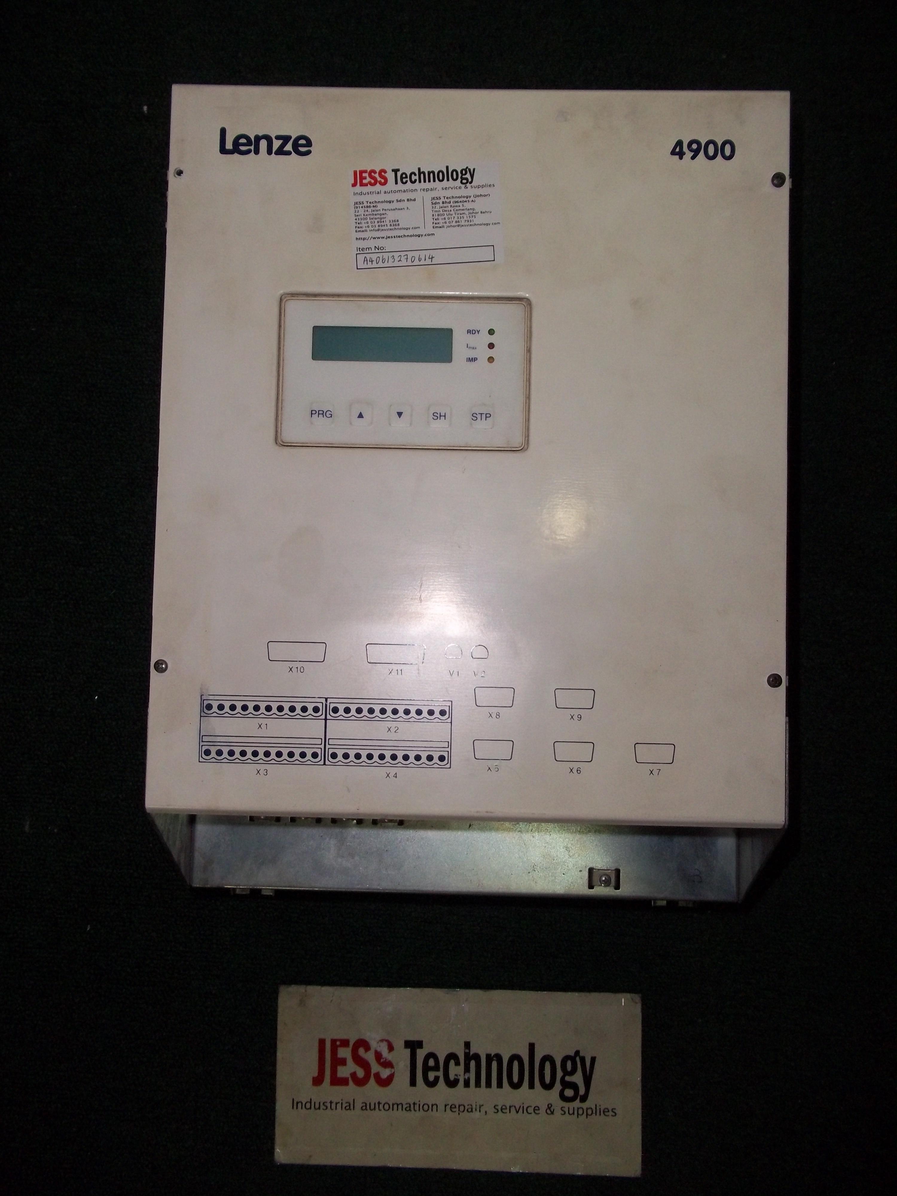 Repair EVD4903-E LENZE LENZE 4900 in Malaysia, Singapore, Thailand, Indonesia