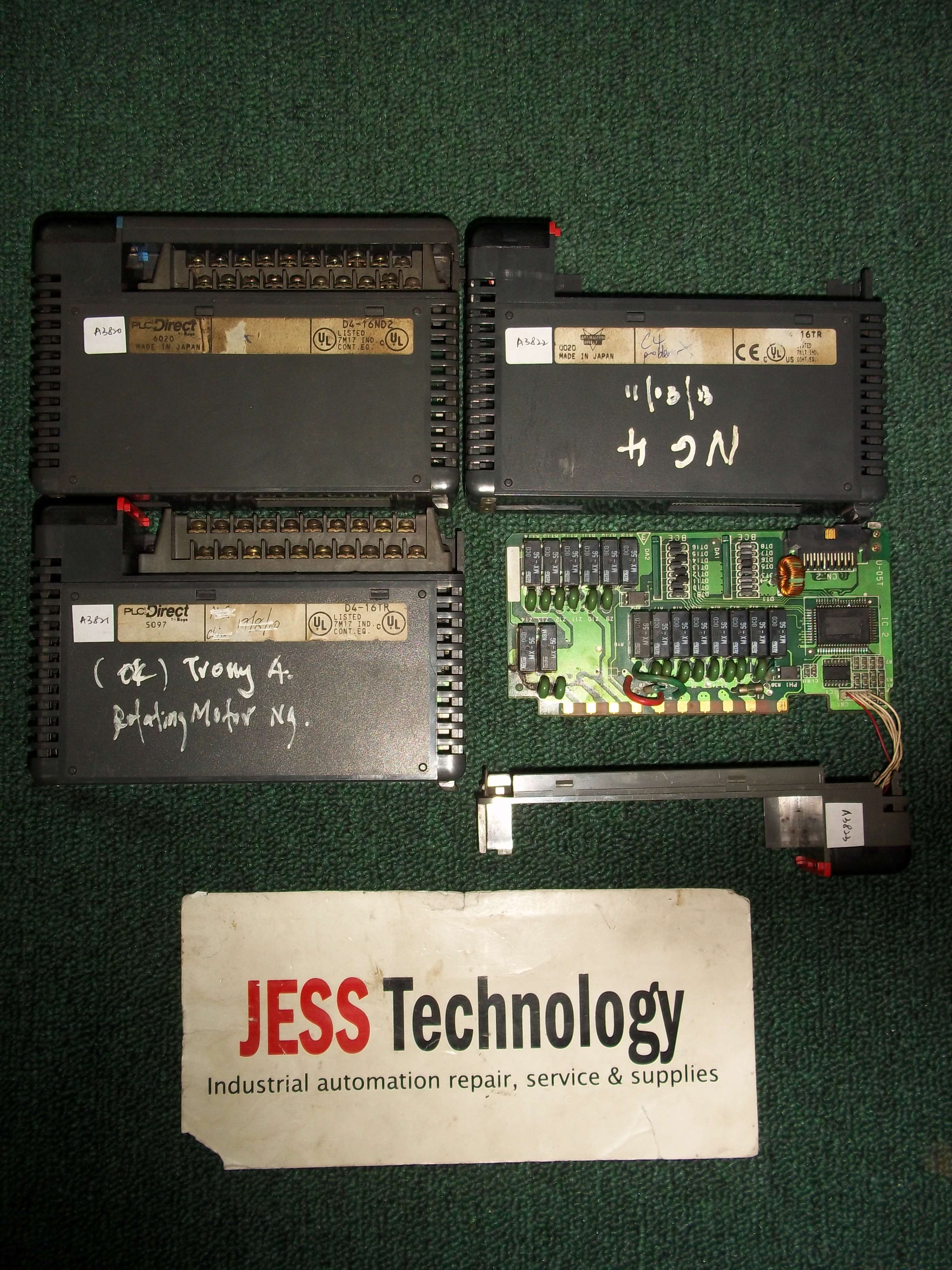 Repair D416TR DTR OUTPUT CARD in Malaysia, Singapore, Thailand, Indonesia