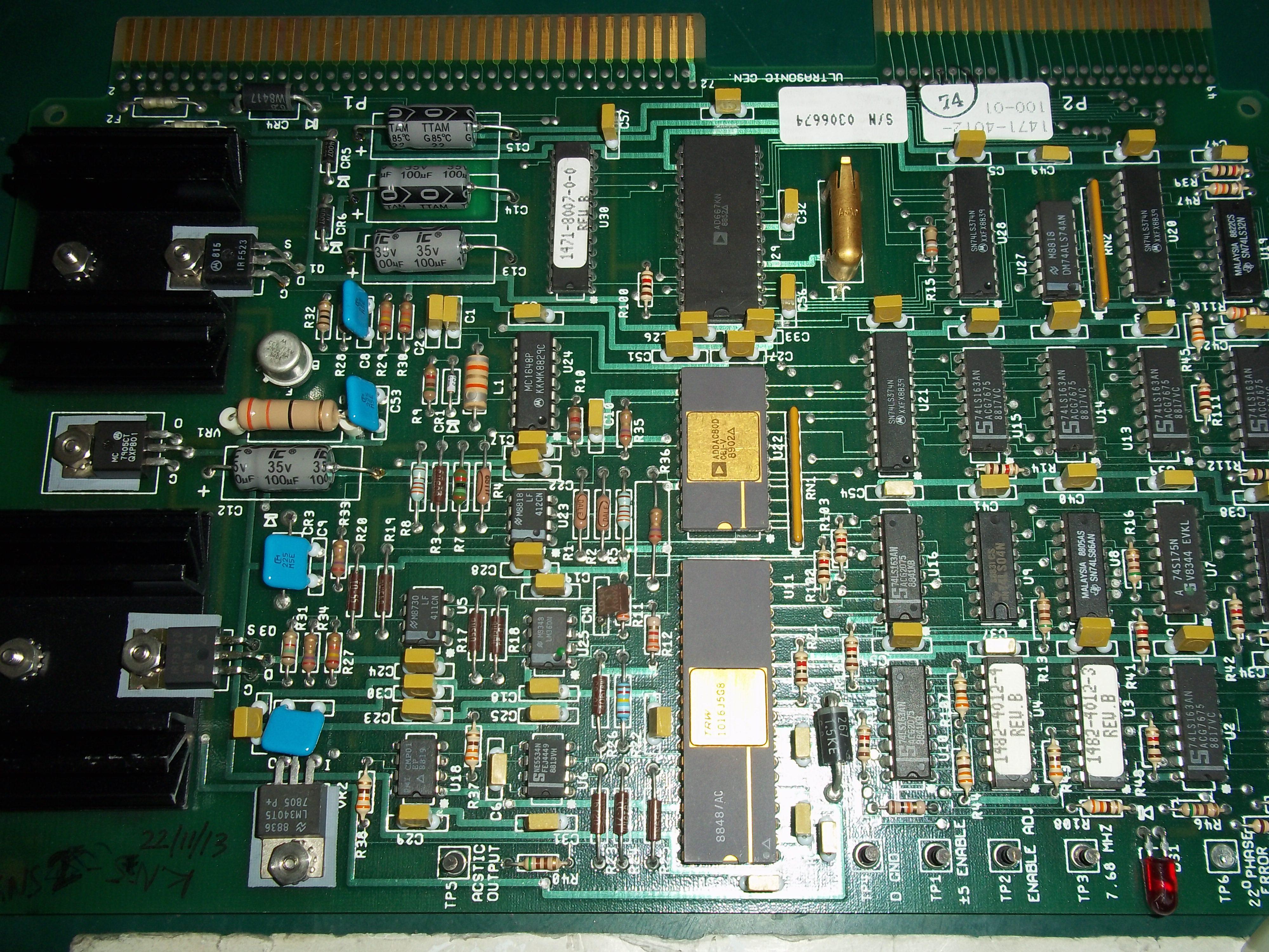 Repair 1471-4012-100-01 USG PCB USG in Malaysia, Singapore, Thailand, Indonesia