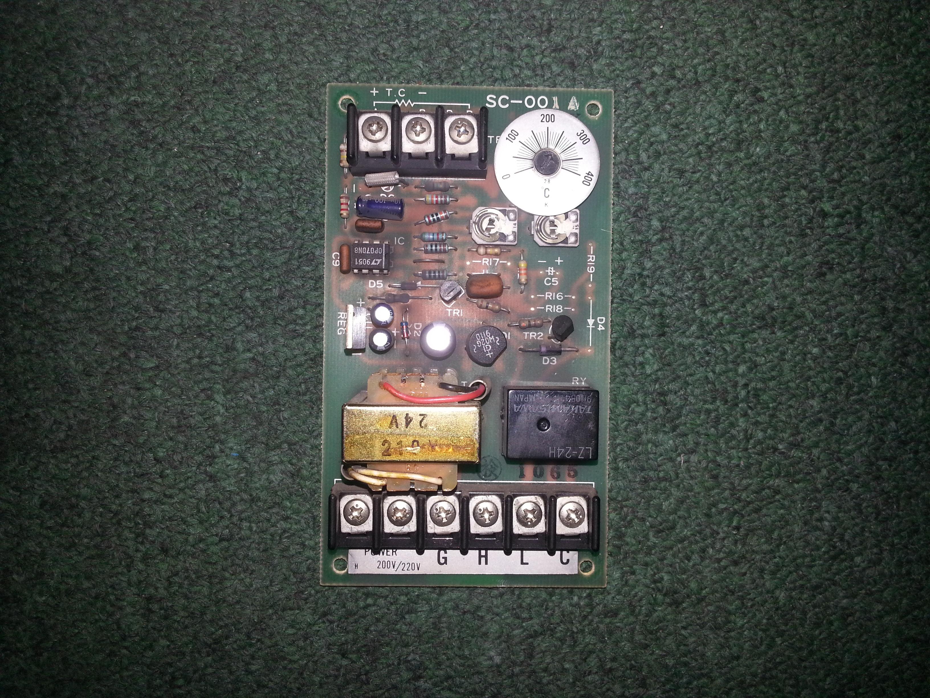 Repair GH LC SC-001A EVCO PCB BOARD in Malaysia, Singapore, Thailand, Indonesia