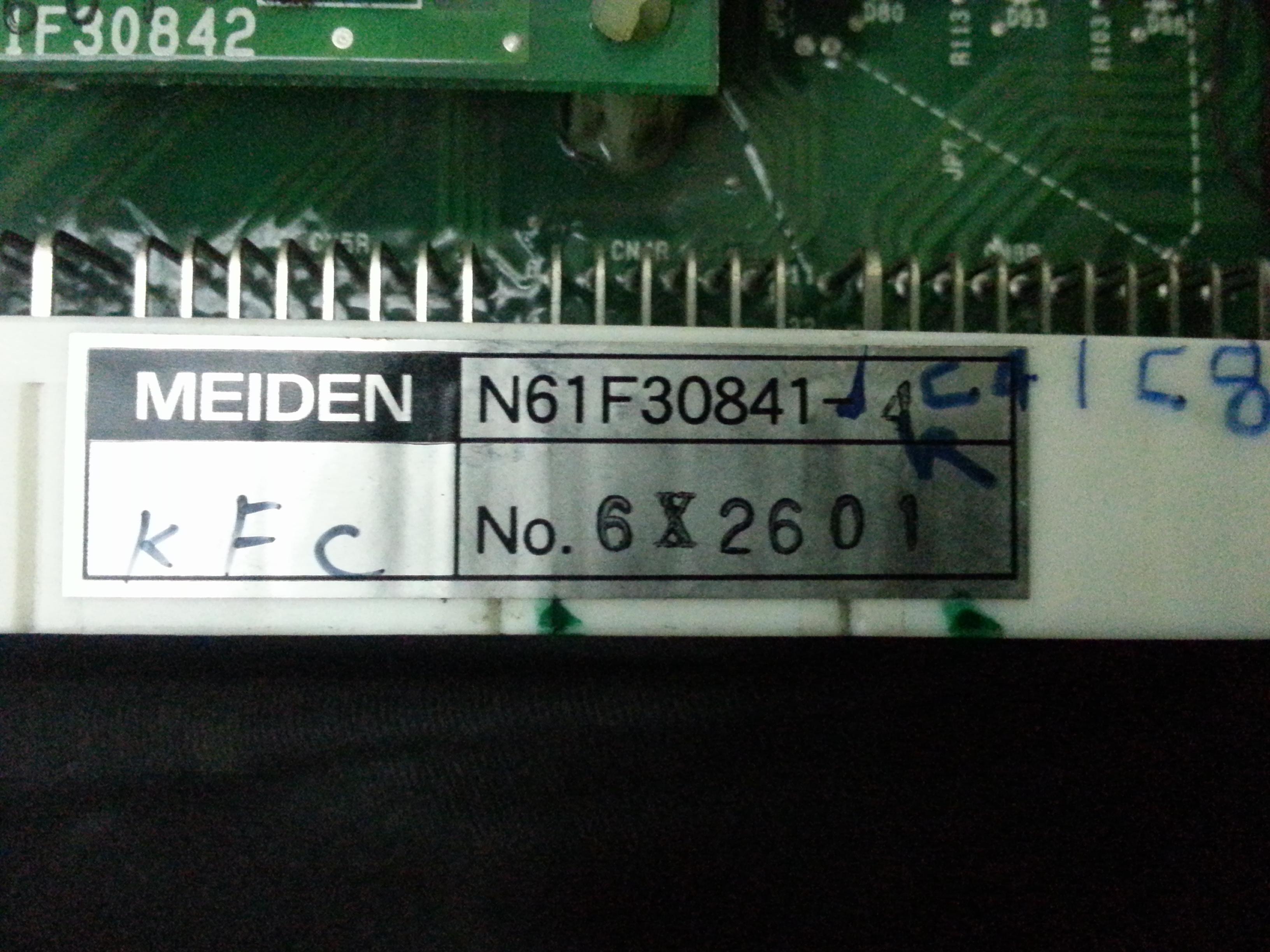Jess Repair Meiden Meiden Pcb Board N61f30841 4 In