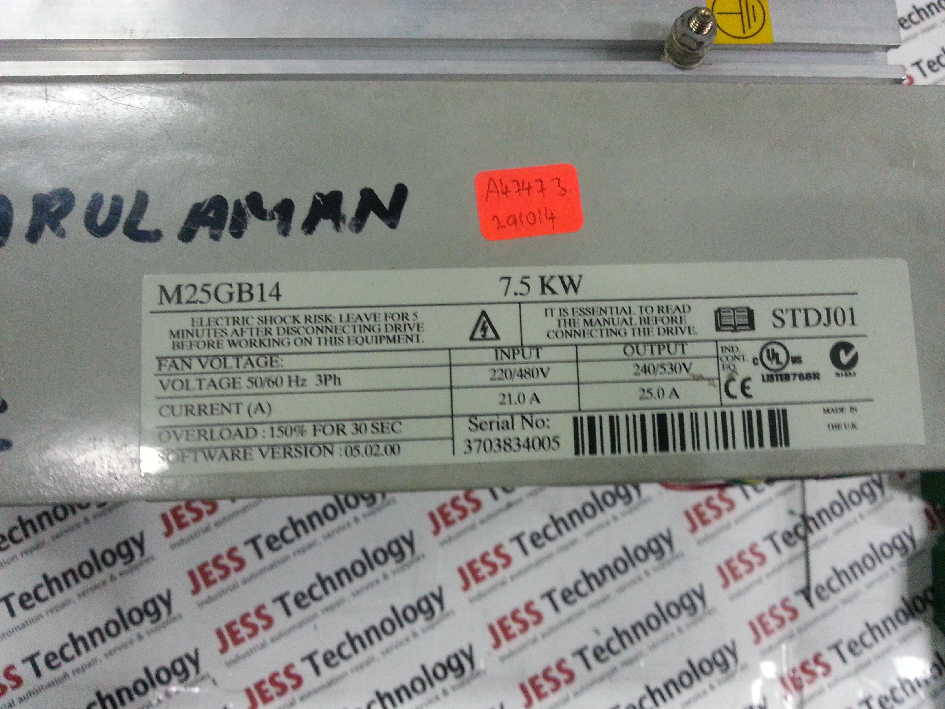 JESS   Repair GSM MENTOR 2 DIGITAL DC DRIVE M25GB14 in