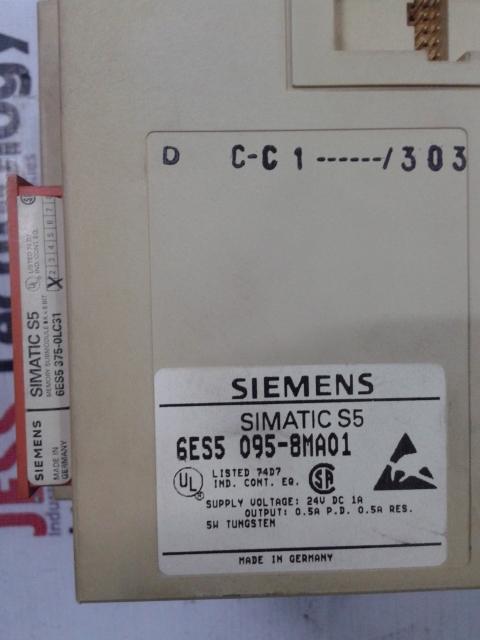 Repair 6ES5 095-8MA01 SIEMENS SIMATIC S5 in Malaysia, Singapore, Thailand, Indonesia