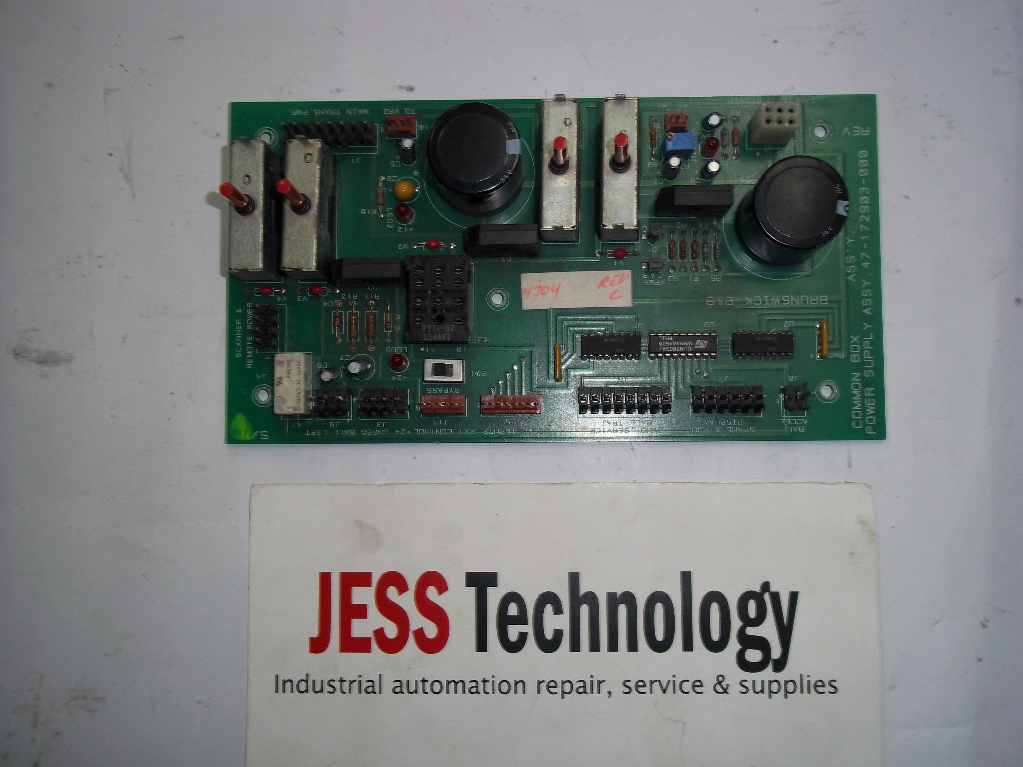 Repair ASSY 47-17-2903-000 BRUNSWICK B&B  COMMON BOX POWER SUPPLY ASSY 47-72903-000 in Malaysia, Singapore, Thailand, Indonesia