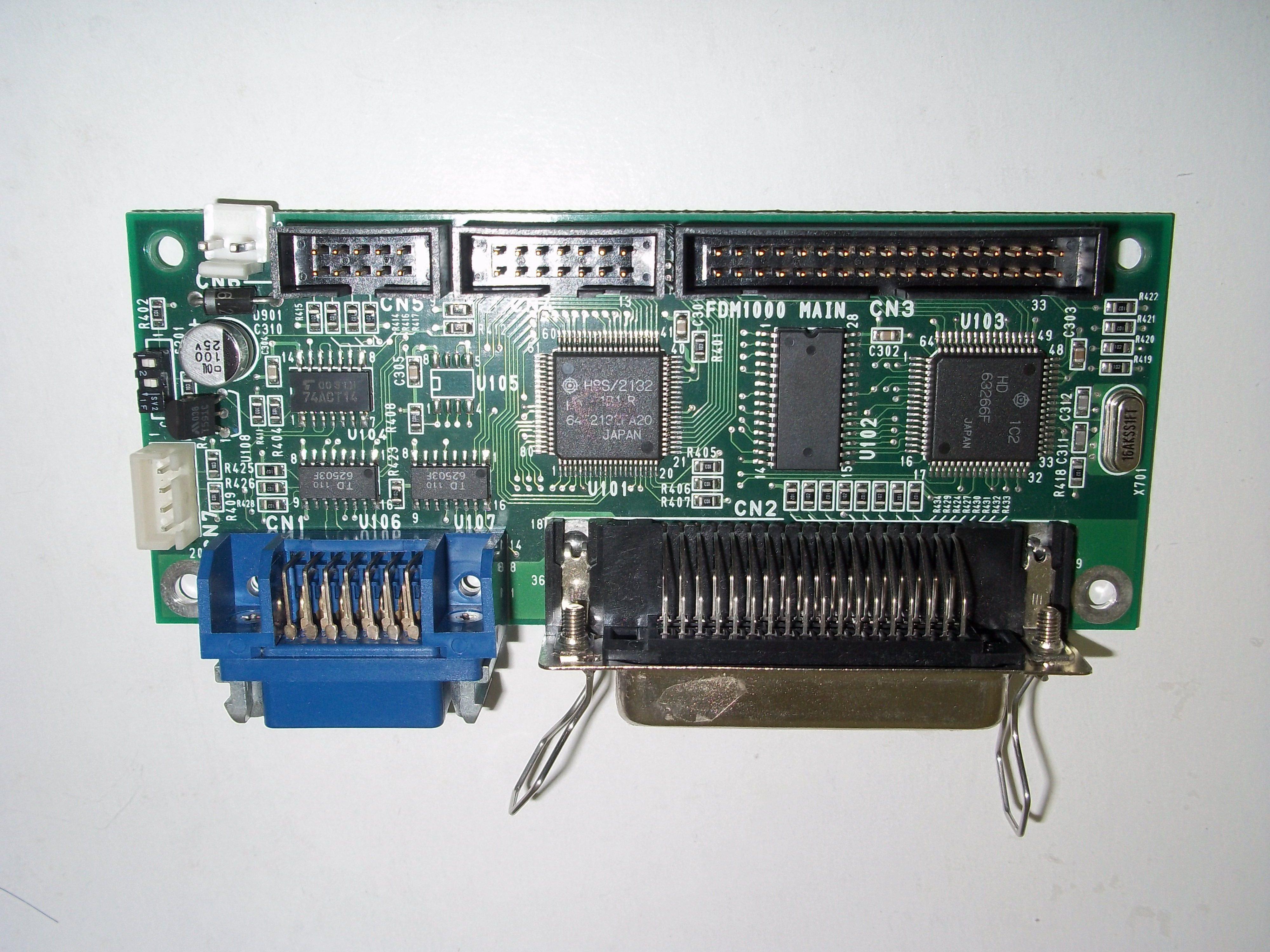 Repair FDM-1000 MAIN CARD MEIDENSHA CONTROLLER in Malaysia, Singapore, Thailand, Indonesia