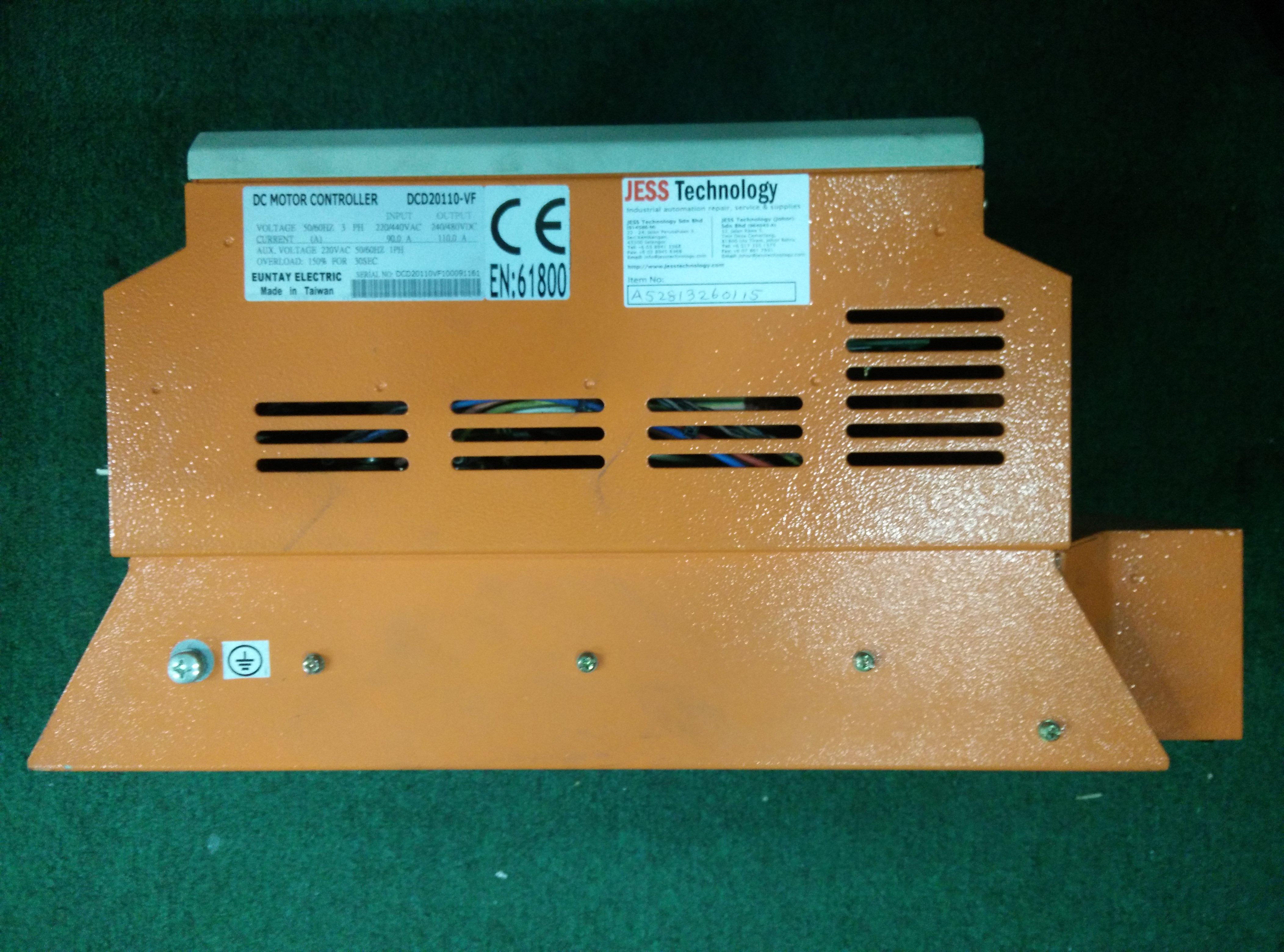 JESS | Repair DC DC MOTOR CONTROLLER DCD20110-VF in Malaysia