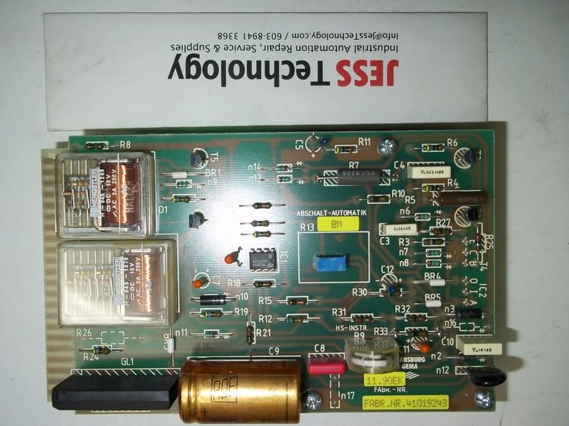Repair FABR.NR.41019243 ANSBURG ANSBURG GEMA FABR in Malaysia, Singapore, Thailand, Indonesia