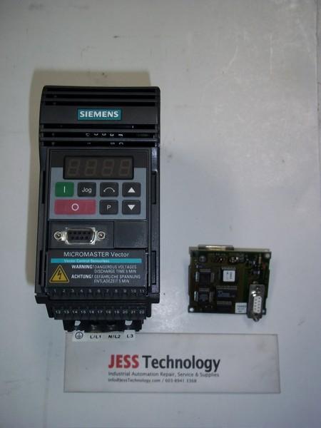 Repair '6SE3212-0DA40 VECTOR SIEMENS MICROMASTER VECTOR DRIVE in Malaysia, Singapore, Thailand, Indonesia