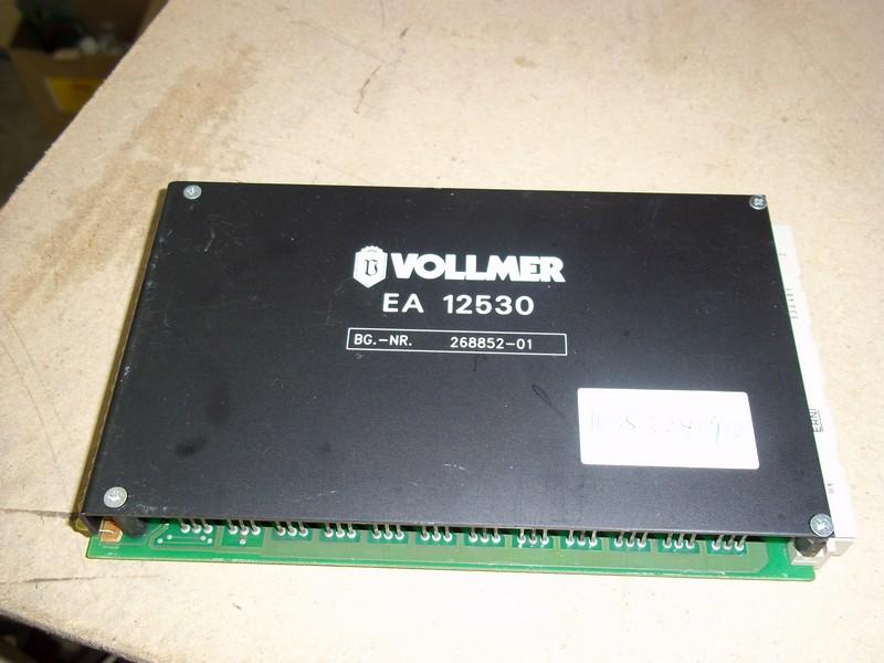 Repair 268852-01 VOLLMER VOLLMER BOARD EA12530 in Malaysia, Singapore, Thailand, Indonesia