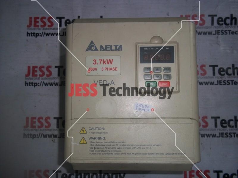 Repair DELTA VFD037A43A DELTA 3.7KW (460V) 3 PHASE (VFD-A) in Malaysia, Singapore, Thailand, Indonesia