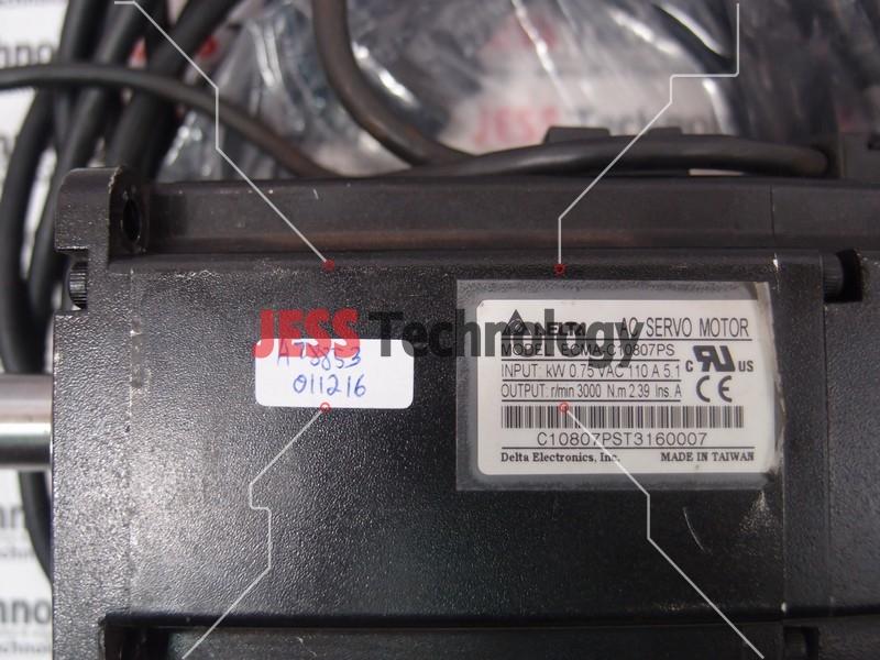 Repair DELTA ECMA-C10807PS DELTA AC SERVO MOTOR in Malaysia, Singapore, Thailand, Indonesia