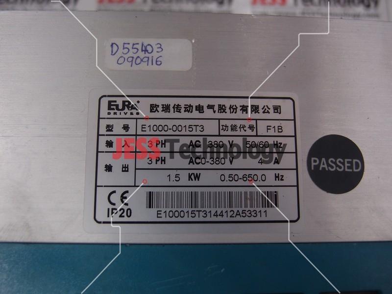 Repair EURA E1000-0015T3 EURA DRIVES INVERTER in Malaysia, Singapore, Thailand, Indonesia