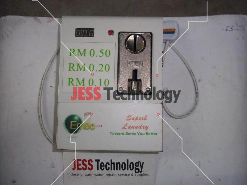 Repair XQB60-168 HUITENGKEJI FULLY AUTOMATIC WASHING MACHINE TOKEN CONTROLLER BOX in Malaysia, Singapore, Thailand, Indonesia