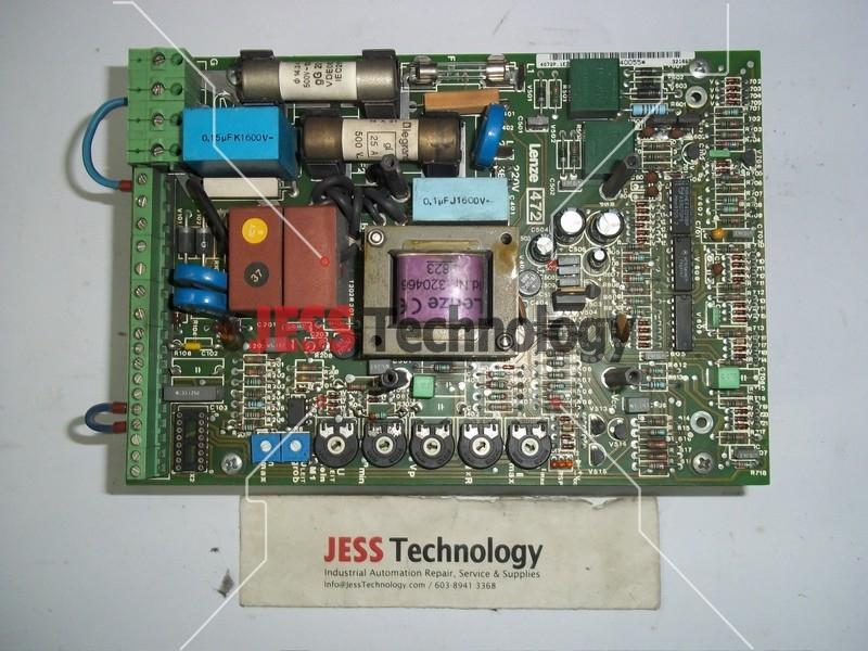 Repair EVD472-E LENZE PCB BOARD (LENZE) in Malaysia, Singapore, Thailand, Indonesia