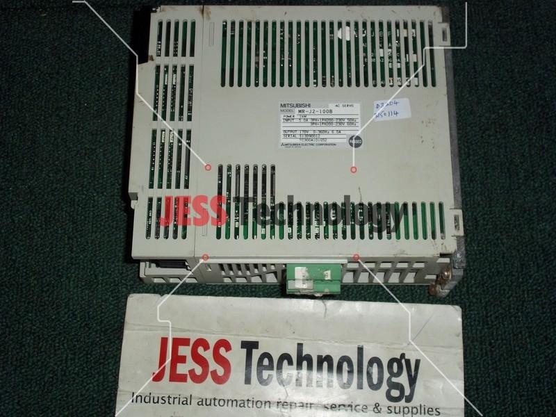 Repair MITSUBHISHI MR-J2-100B MITSUBHISHI AC SERVO MR-J2-100B in Malaysia, Singapore, Thailand, Indonesia