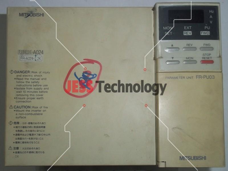 Repair FR-A024-2.2K MITSUBISHI MITSUBISHI FREQROL-A024 INVERTER in Malaysia, Singapore, Thailand, Indonesia