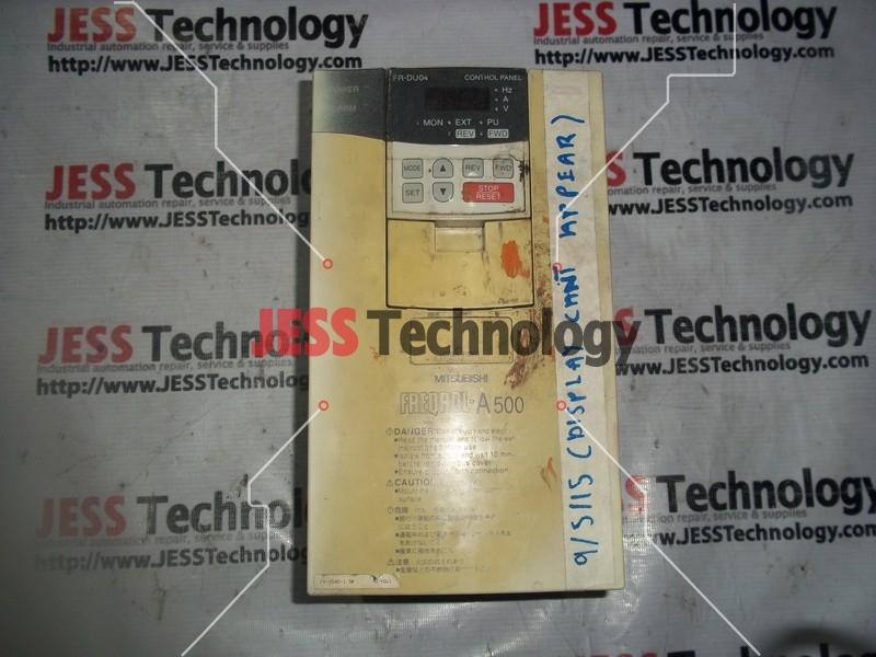 Repair MITSUBISHI FR-A540-1.5K MITSUBISHI FREQROL-A500 INVERTER in Malaysia, Singapore, Thailand, Indonesia