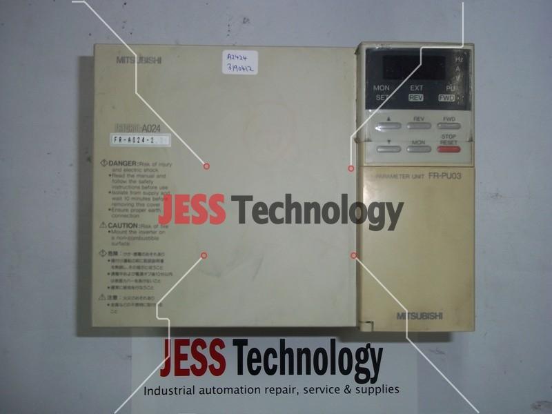Repair FR-A024-2.2K MITSUBISHI FREQROL-A024 INVERTER in Malaysia, Singapore, Thailand, Indonesia