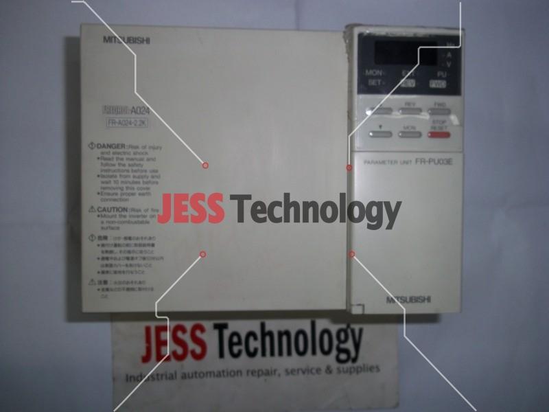 Repair FR-A024-2.2K MITSUBISHI MITSUBISHI INVERTER FR-A024-2.2K in Malaysia, Singapore, Thailand, Indonesia
