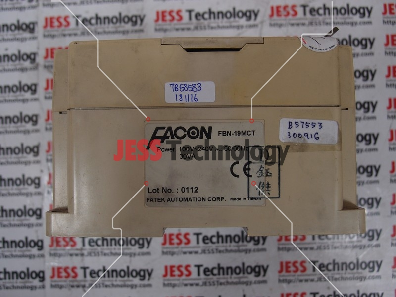 Repair FATEK FBN-19MCT FATEK FACON PROGRAMMABLE CONTROLLER in Malaysia, Singapore, Thailand, Indonesia