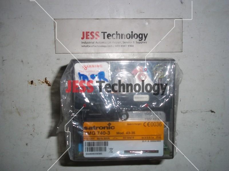 Repair TMG 740-3 HONEYWELL SATRONIC BURNER CONTROL BOX in Malaysia, Singapore, Thailand, Indonesia
