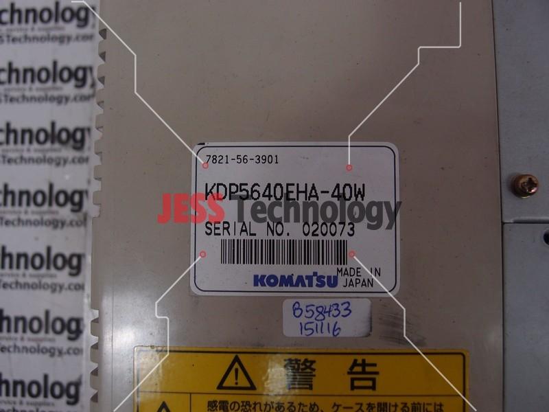 Repair KOMATSU KDP5640EHA-40W KOMATSU SCREEN DISPLAY in Malaysia, Singapore, Thailand, Indonesia