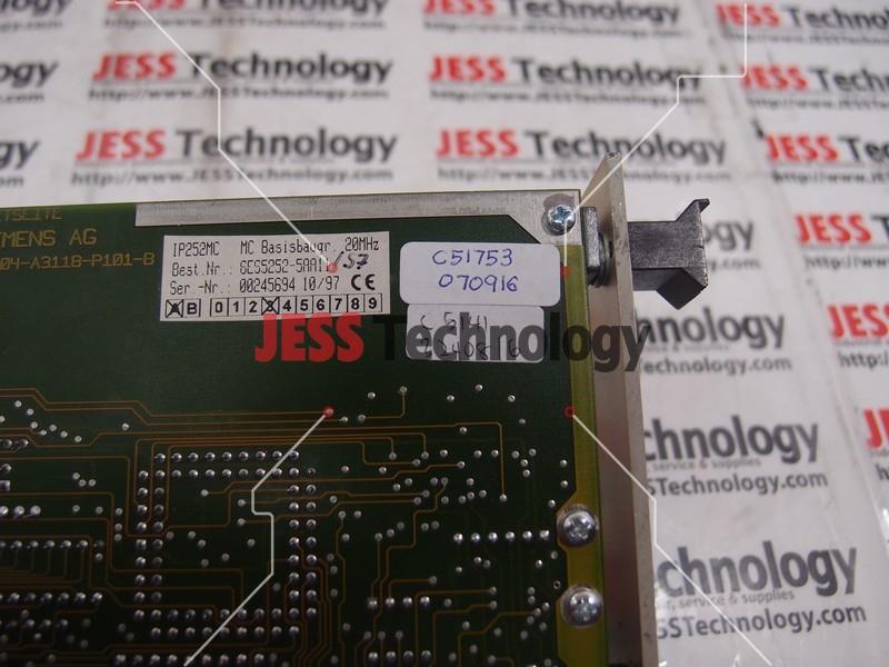Repair SIEMENS 6ES5252-5AA11/ 57 SIEMENS AG IP252MC PCB BOARD in Malaysia, Singapore, Thailand, Indonesia