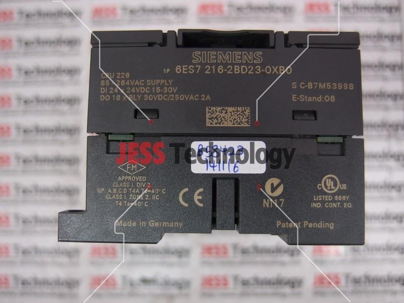 Repair SIEMENS 6ES7216-2BD23-0XB0 SIEMENS SIMATIC S7-200 in Malaysia, Singapore, Thailand, Indonesia