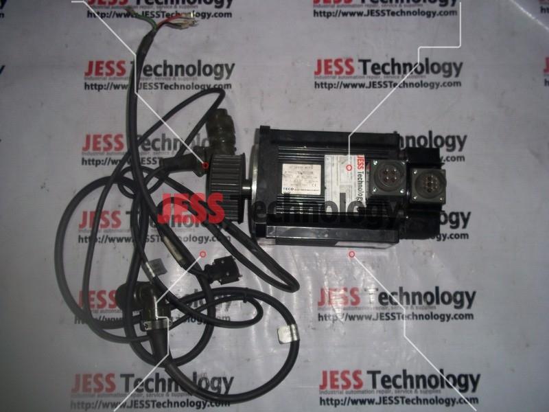 Repair TECO JSMA-MB20ABK TECO AC SERVO MOTOR FOR TA5832 in Malaysia, Singapore, Thailand, Indonesia