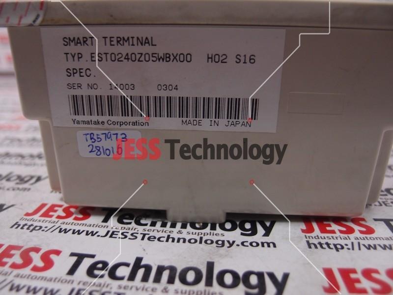 Repair YAMATAKE EST0240205WBX00 YAMATAKE SMART TERMINAL in Malaysia, Singapore, Thailand, Indonesia