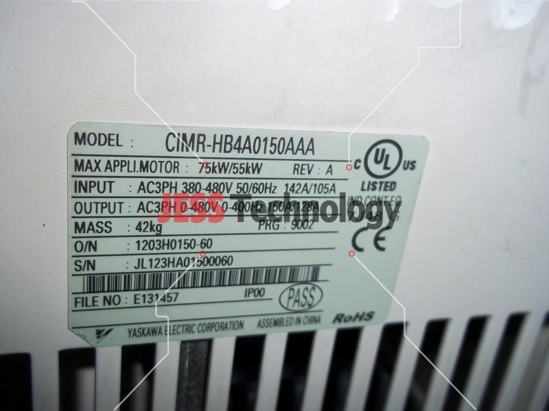 Repair CIMR-HB4A0150AAA YASKAWA YASKAWA H1000 in Malaysia, Singapore, Thailand, Indonesia
