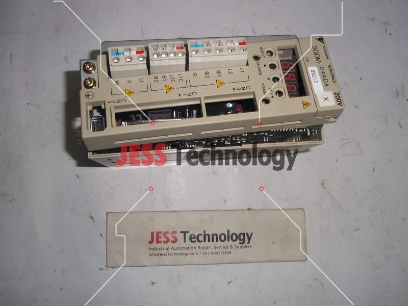 Repair SGDM-04ADA YASKAWA YASKAWA SERVOPACK in Malaysia, Singapore, Thailand, Indonesia